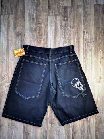 "Baggy Jeans Short ""Rusty"" col. black"